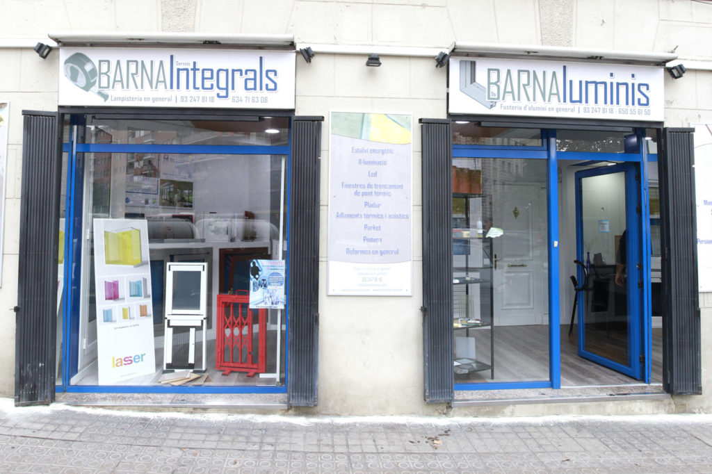 La empresa carpinteri a de aluminio en barcelona - Ventanas de aluminio en barcelona ...