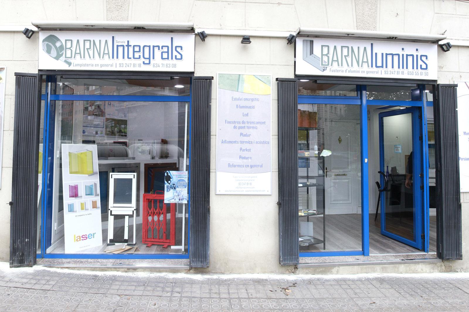 La empresa carpinteri a de aluminio en barcelona for Carpinteria de aluminio precios